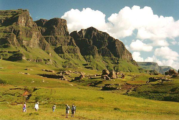 Sehlabathebe National Park - Lesotho. BelAfrique your personal travel planner - www.BelAfrique.com