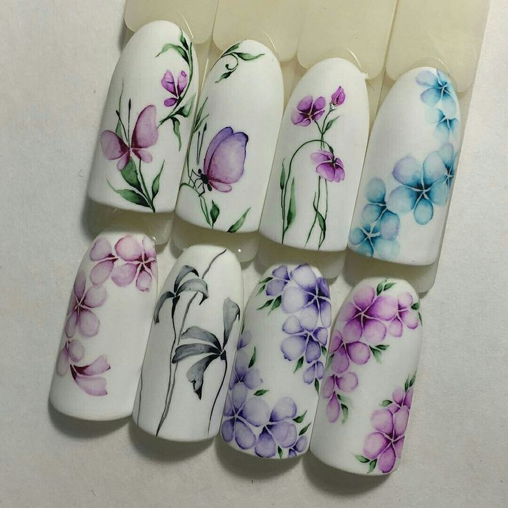Water colour Spring Flowers