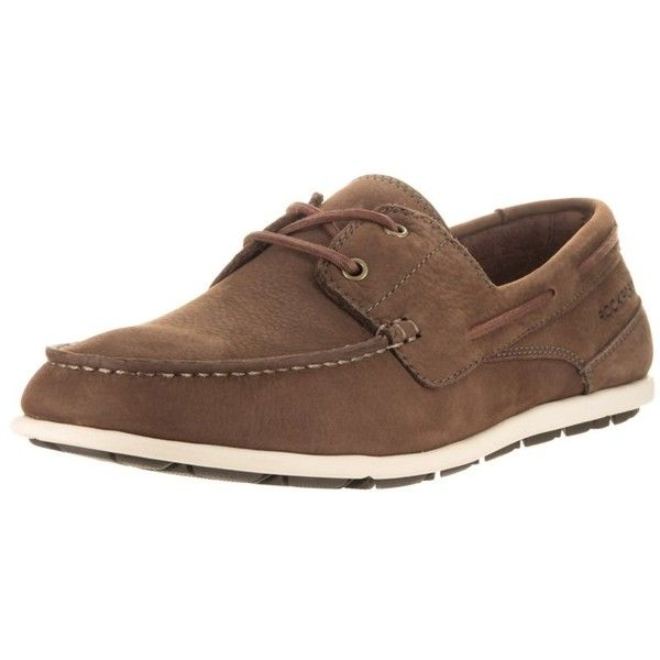Rockport Rockport Men's Bennett Lane 3 Boat Loafers & Slip-Ons Shoe |... ($85) ❤ liked on Polyvore featuring men's fashion, men's shoes, men's loafers, brown, shoes, mens sport shoes, mens slip on shoes, mens brown loafer shoes, mens brown shoes and mens sports shoes