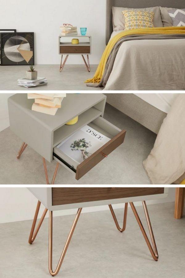 Comment Profiter Des Soldes Pour Relooker Votre Interieur Avec Des Meubles Design Table De Chevet Design Mobilier De Salon Meuble Design