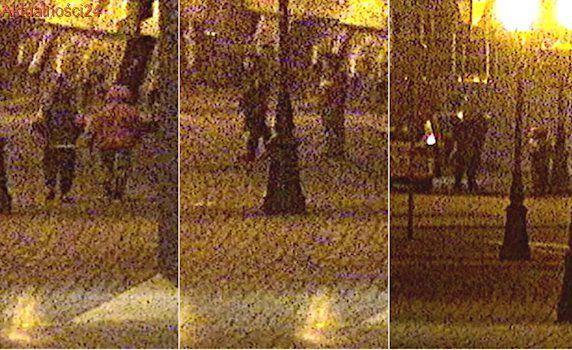 Kilkuletni chłopcy szli w środku nocy przez miasto. Matki pijane