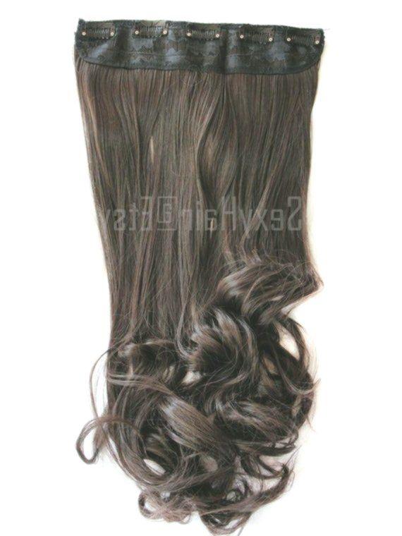24″ Medium Brown Hair Extensions, Extensions, Choc…