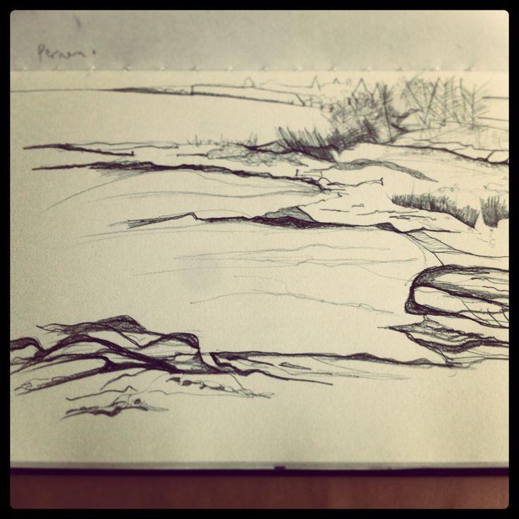 Quick sketch 1, Cyprus 2013,