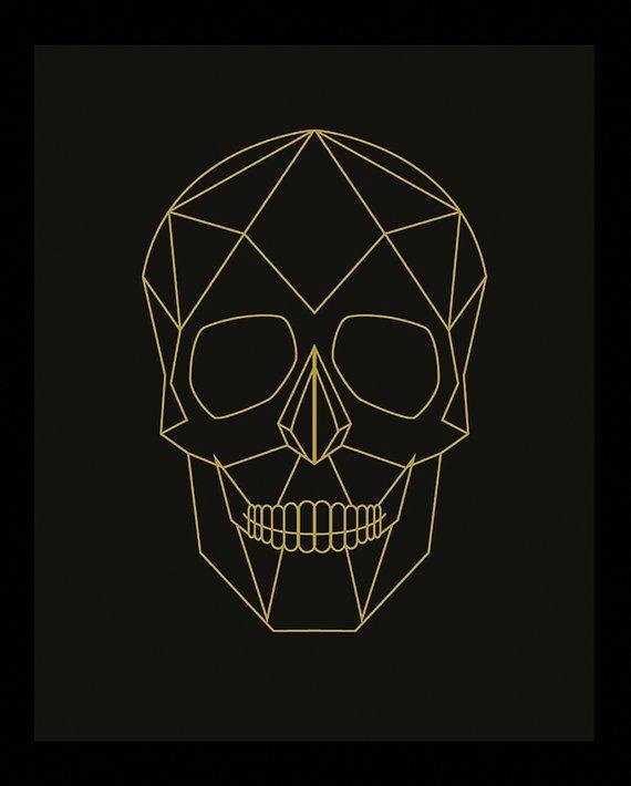 Skull > Geometric