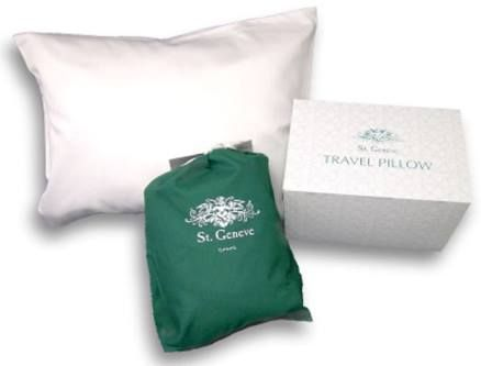 Travel pillow by St. Geneve