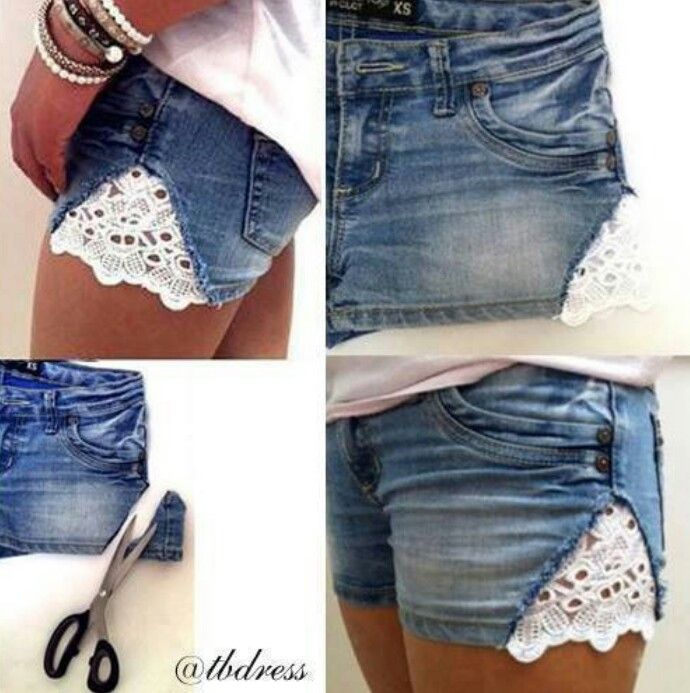 I've done this to all my shorts - inserting extra fabric in the sides - since I have a smallish waist and huge thighs. I like this kind of material though - gotta try it next summer.