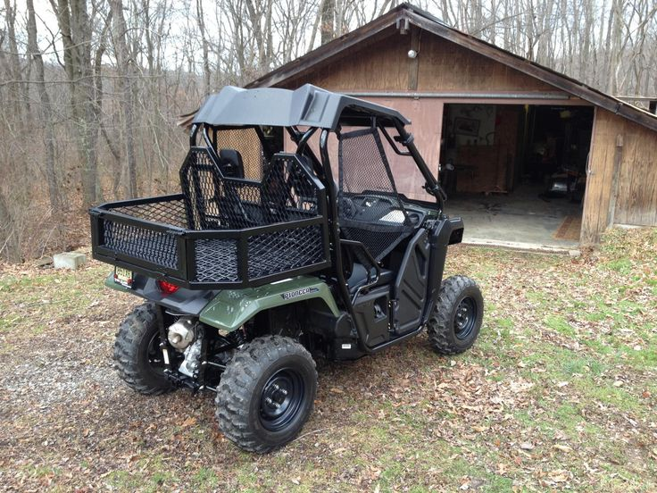 Honda 500 Atv >> Sweet looking firewood rack. I like the design. | Utv ...
