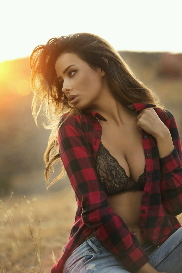 sexy babes flannel nude