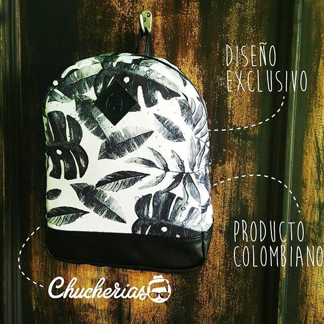 Morrales  llenos de estilo  y actitud,  sólo aquí en #chucheriascm  Cra 34 # 51- 48 , Cabecera  Información por  direct o  whatsapp 304 42 17 807 #chucheriascm #productocolombiano #backpack #blackandwhite #bolsos #design #colombia