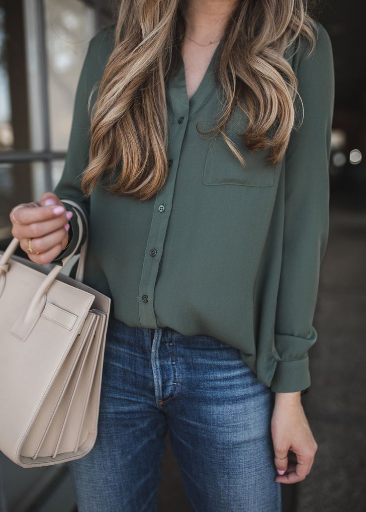 The Blouse I Own in 3 Different Colors | The Teacher Diva: a Dallas Fashion Blog featuring Beauty & Lifestyle