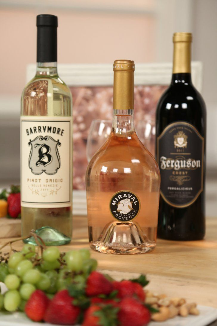 Pin for Later: Brad and Angelina's Wine Plus 2 More Celebrity Bottles That Are Actually Great