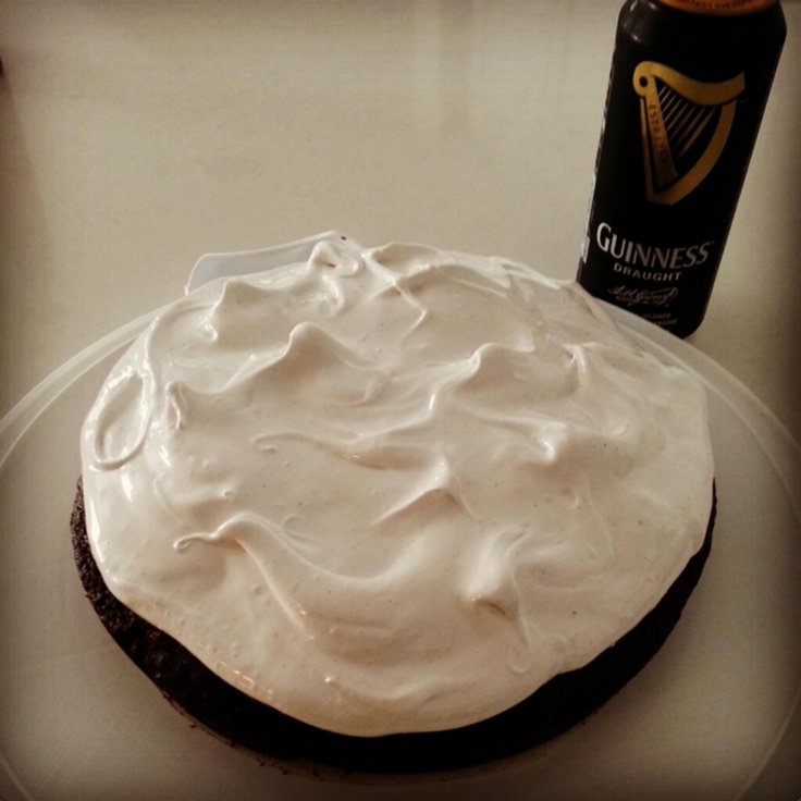 Adrienne Alexander baked our Guinness Fudge Cake for her hubby's birthday.