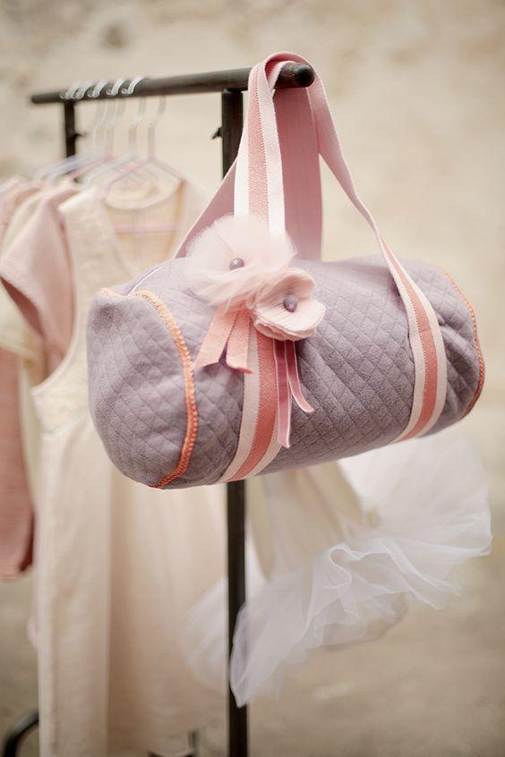 Patron de couture: un sac de danse pour les enfants - Marie Claire Idées