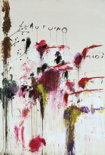 Cy Twombly: Cy Twombly, Artists, Autumn, Abstract Art, Art Inspiration, Four Seasons, Twombly Quattro, Cytwombly, Paintings
