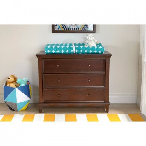 The Elise 3-Drawer Transitional Dresser assembles tool-free in just about 10 minutes for a furniture piece that is truly Frustration-Free! With our unique QuickBlock system, you can simply connect the two blocks, and then slide the metal clip tightly over them. No hammers, nails or hex wrenches needed!  Dresser | Morocco | Nursery | Comfy | Elegant | Safe | Sturdy | Nursery | Playful | Furniture | Children | Baby | Playful | Parents | Toddler | Clean | Baby | Changing Pad | Toys | Home…