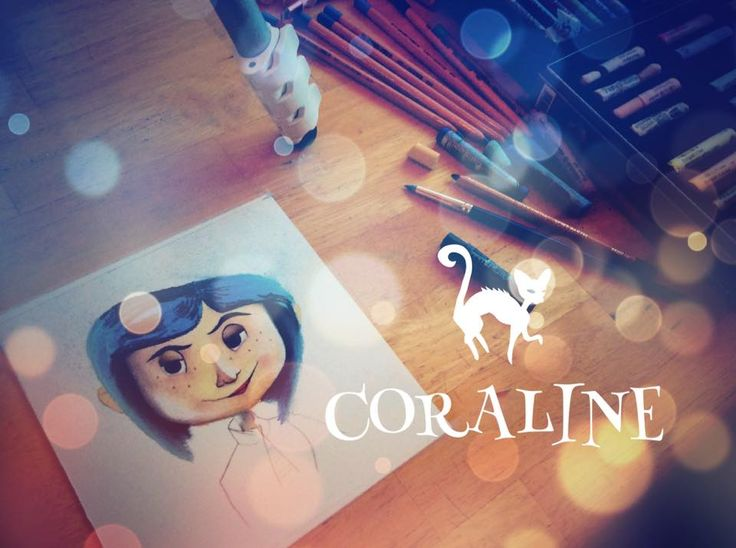 Coraline Speed painting on my Youtube channel