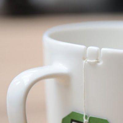 Tie Tea Cup. Smart! $17.69: Teas Time, Gifts Ideas, Teas Cups, George Lee, Smart Design, Cool Ideas, Tea Cups, Ties Teas, Teas Bags