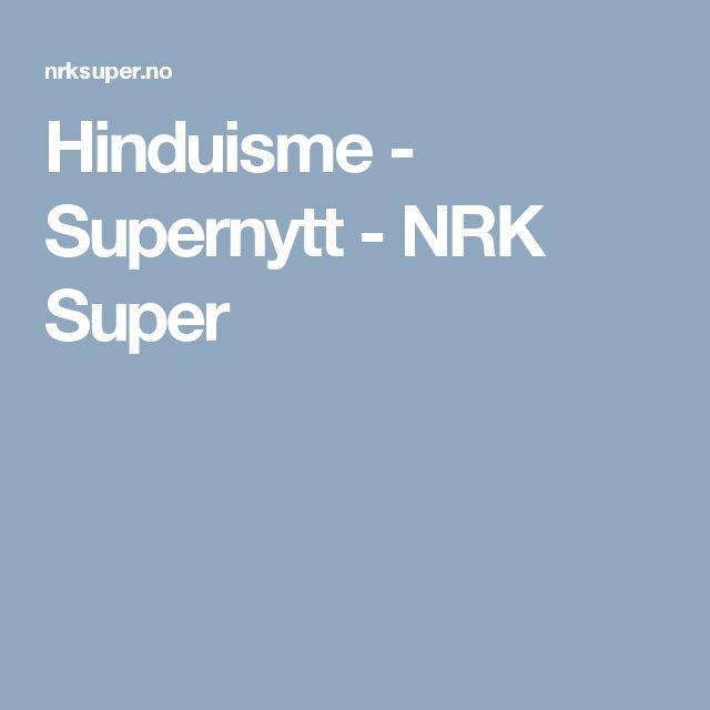 Hinduisme - Supernytt - NRK Super