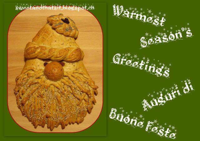 Santa Bread - Pane Babbo Natale