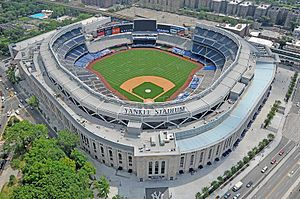 Yankee Stadium is a stadium located in The Bronx in New York City. It is the home ballpark for the New York Yankees,