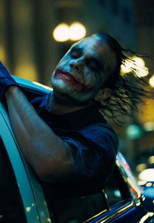 """I'm a dog chasing cars. I wouldn't know what to do with one if I caught it! You know, I just do things."" -Joker"