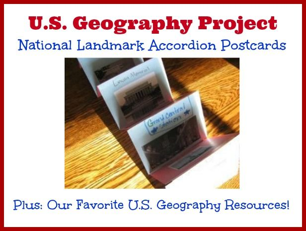 U.S. Geography Project and Resources