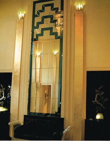 Zigzag Micro In Claridges Lobby From London Art Deco By Arnold Schwartzman