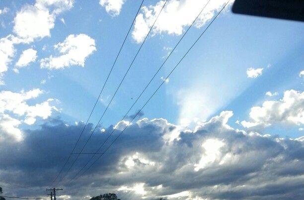 Werid sky