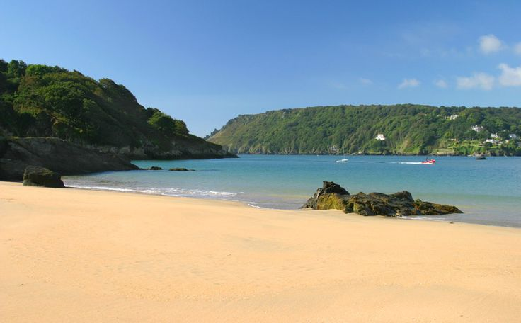 Salcombe beaches, Devon                                                                                                                                                     More