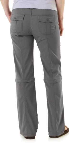 prana monarch pants (GRAVEL) - my zip off tech pants