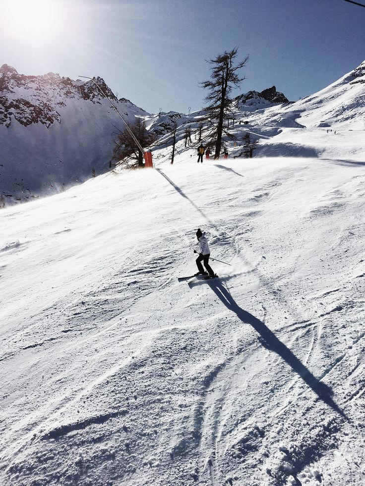 Skier In Mountains - http://www.splitshire.com/skier-in-mountains/