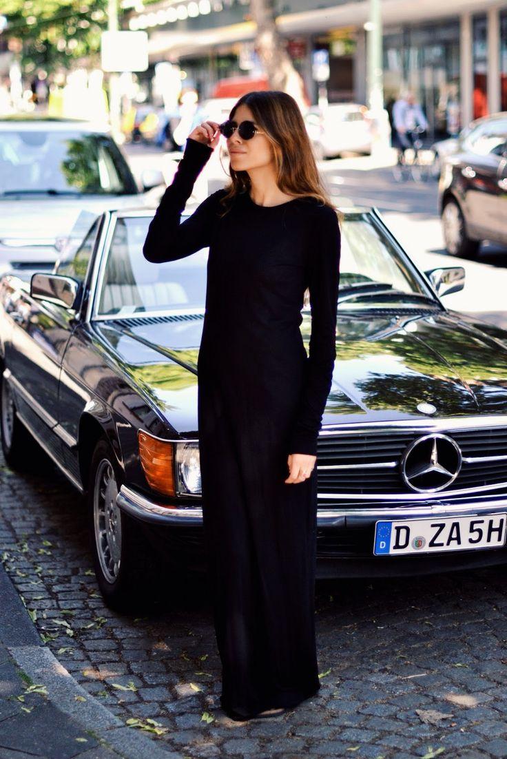 her dress. the car. gah.
