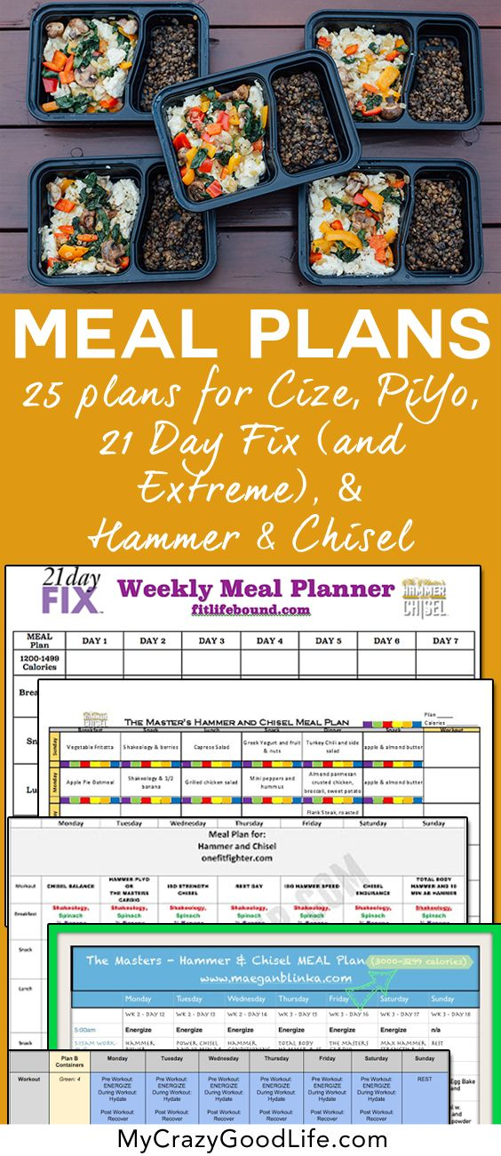 Looking to start the Hammer and Chisel program but not sure about how to start the meal planning? These meal plans are compatible with the 21 Day Fix, Hammer and Chisel, PiYo, and Cize–all of the Beachbody programs!