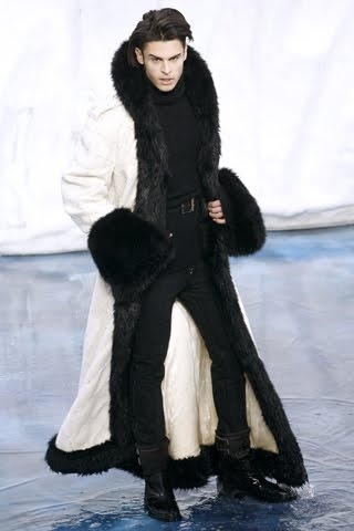 Baptiste - Chanel Man...with a coat on :)