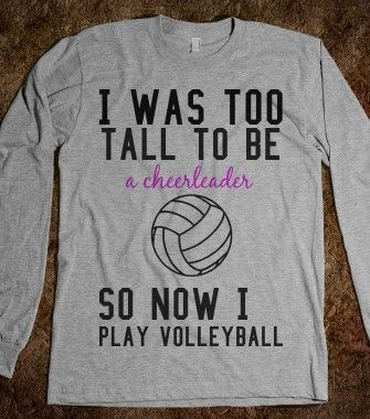 I Was Too... - Volleyball - Skreened T-shirts, Organic Shirts, Hoodies, Kids Tees, Baby One-Pieces and Tote Bags