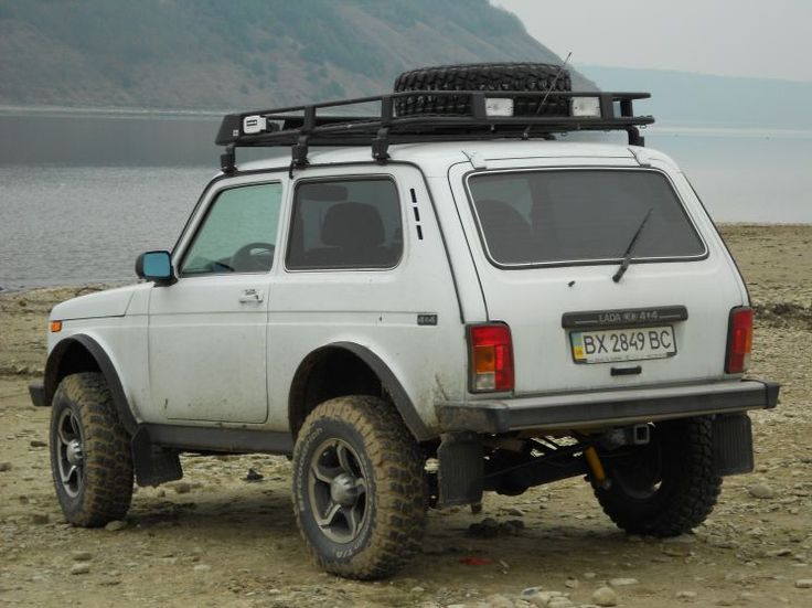 Modified Lada Niva 4x4.