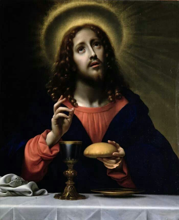 Jesus - the institution of the Holy Eucharist