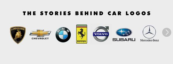 Fascinating history behind the logos of famous car brands - DesignTAXI.com