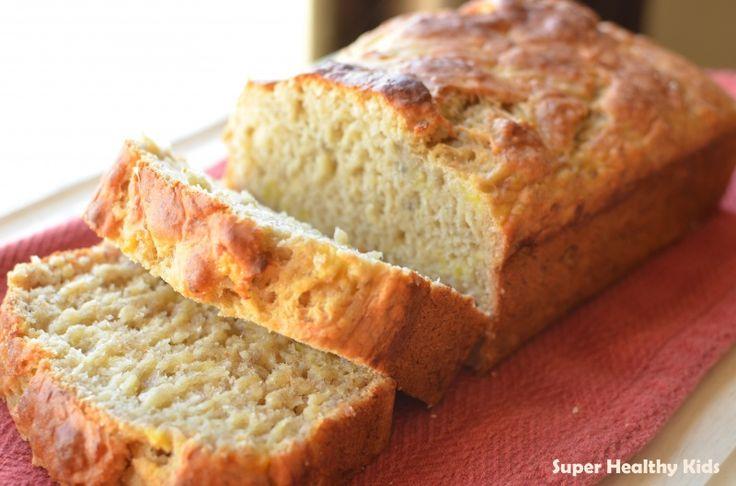 The Healthy Banana Bread Recipe (en informatie over baking soda vind je hier: http://debakparade.blogspot.nl/2011/03/verschil-baking-soda-en-bakpoeder.html) #suikervrij #zonder_suiker #banana_bread