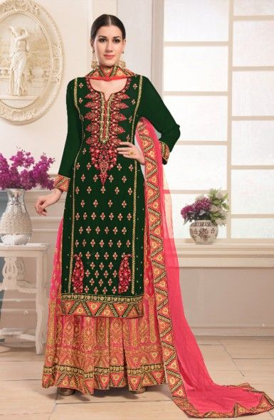 a902f66c390c6 Pakistani Style Eid Special Designer Sharara Suits Wholesale Collection   eid  salwarsuit  salwarsuit  ethnic  clothing  fashion  shopping