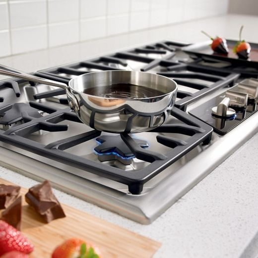 """SGSX365FS Thermador 36"""" Masterpiece Deluxe Gas Cooktop with 5 Star Burners - Stainless Steel"""