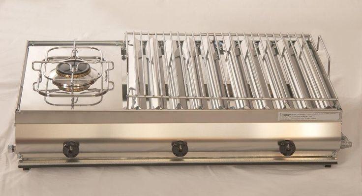 Vendita online | Mod. F3 Barbecue in acciaio inox Combinata GA Srl - Articoli per la casa - Prodotti Italiani