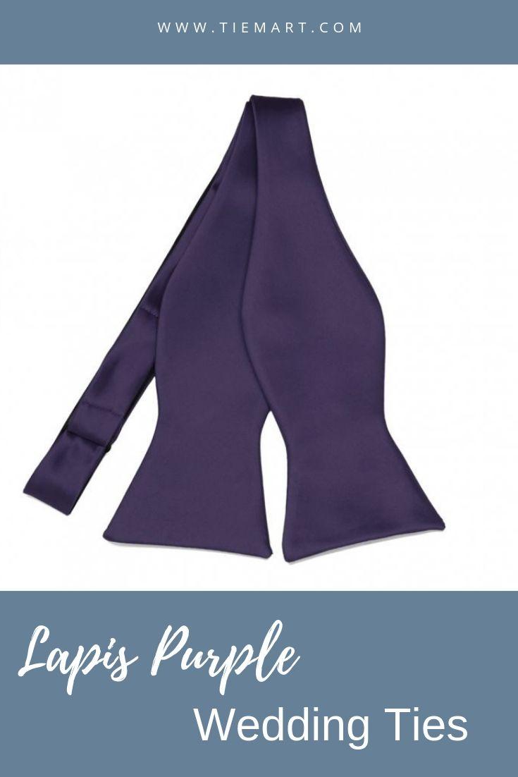 TieMart Boys Dusty Blue Premium Bow Tie