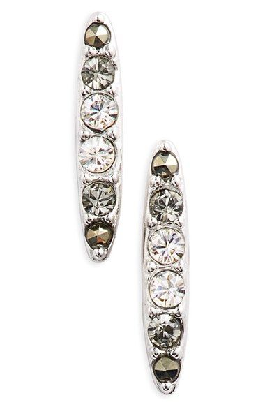 Judith Jack Bar Stud Earrings