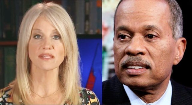 "MUST WATCH: Kellyanne Conway PUNCHES BACK After Juan Williams Questioned How She Could Work And Raise 4 Kids: ""I don't play golf and I don't have a mistress"" [VIDEO] By 100% FED Up -  Dec 27, 2016"