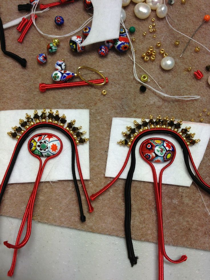 TUTORIAL: Social Butterfly Jewellery Design: Achieving Soutache Symmetry