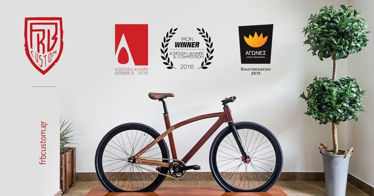 Διακρίθηκε στους Αγώνες Νέων Σχεδιαστών 2015 στην κατηγορία Βιομηχανικός Σχεδιασμός     A' Design Award winner in Vehicle, Mobility and Transportation Design Category, 2015 - 2016