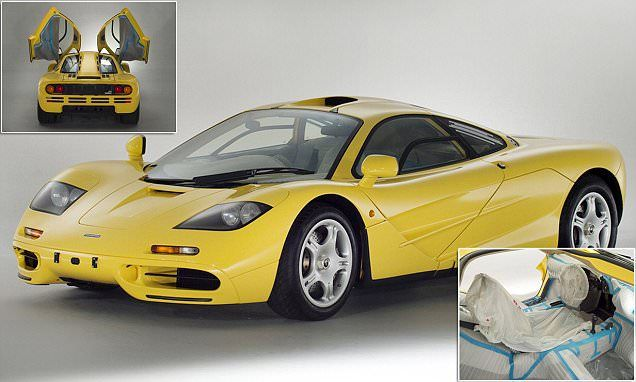 Storage hunter supercar: This undriven McLaren F1 must be worth £12m #DailyMail