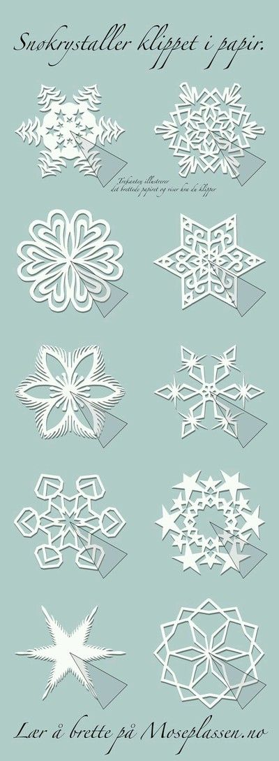 Snowflake patterns