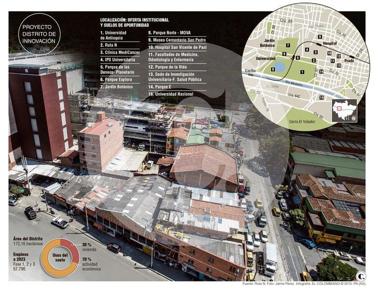 Distrito de innovación de Medellín luchará contra ollas e informalidad